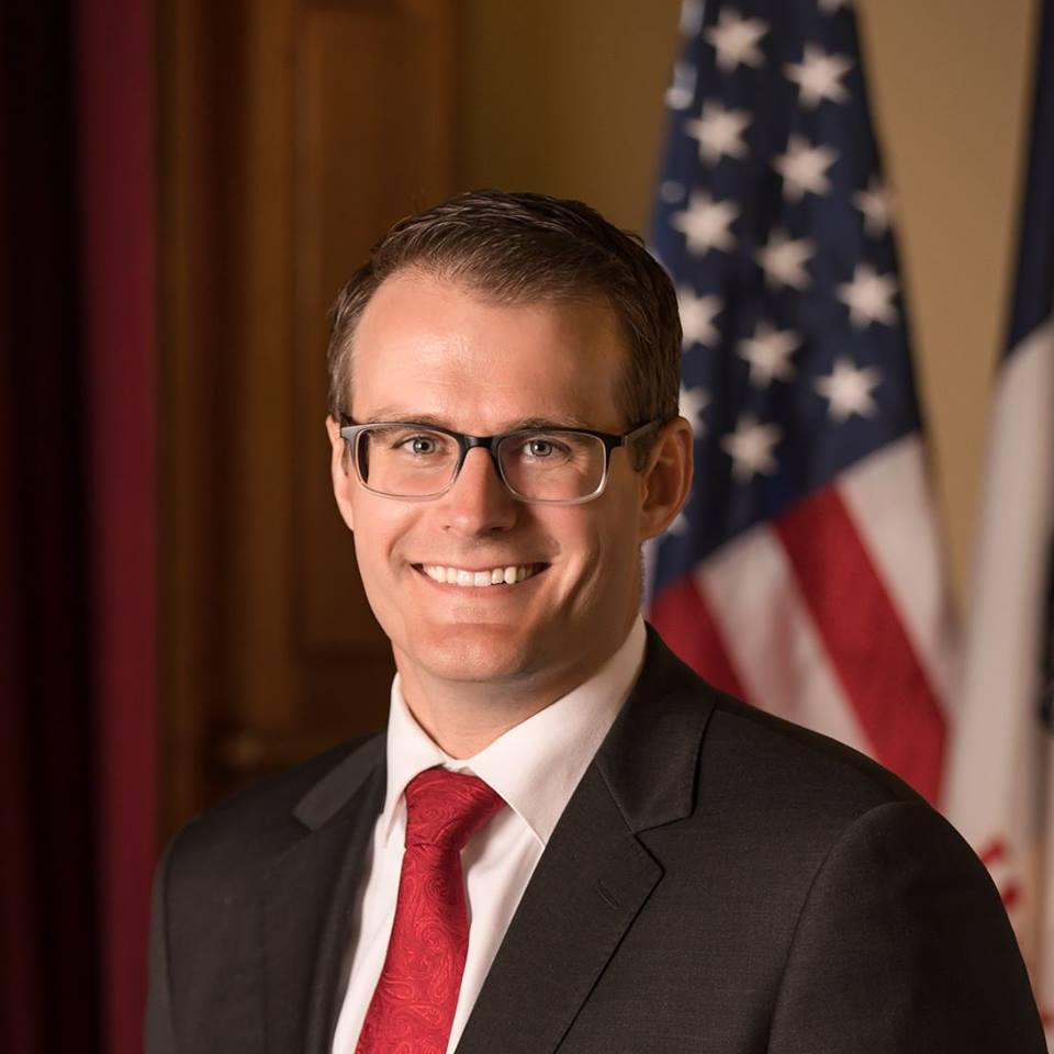 Gov. Reynolds selects Adam Gregg as lieutenant governor