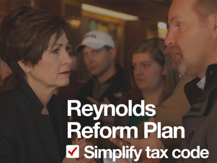 What they're saying: Gov. Reynolds unveils sweeping tax reform proposal