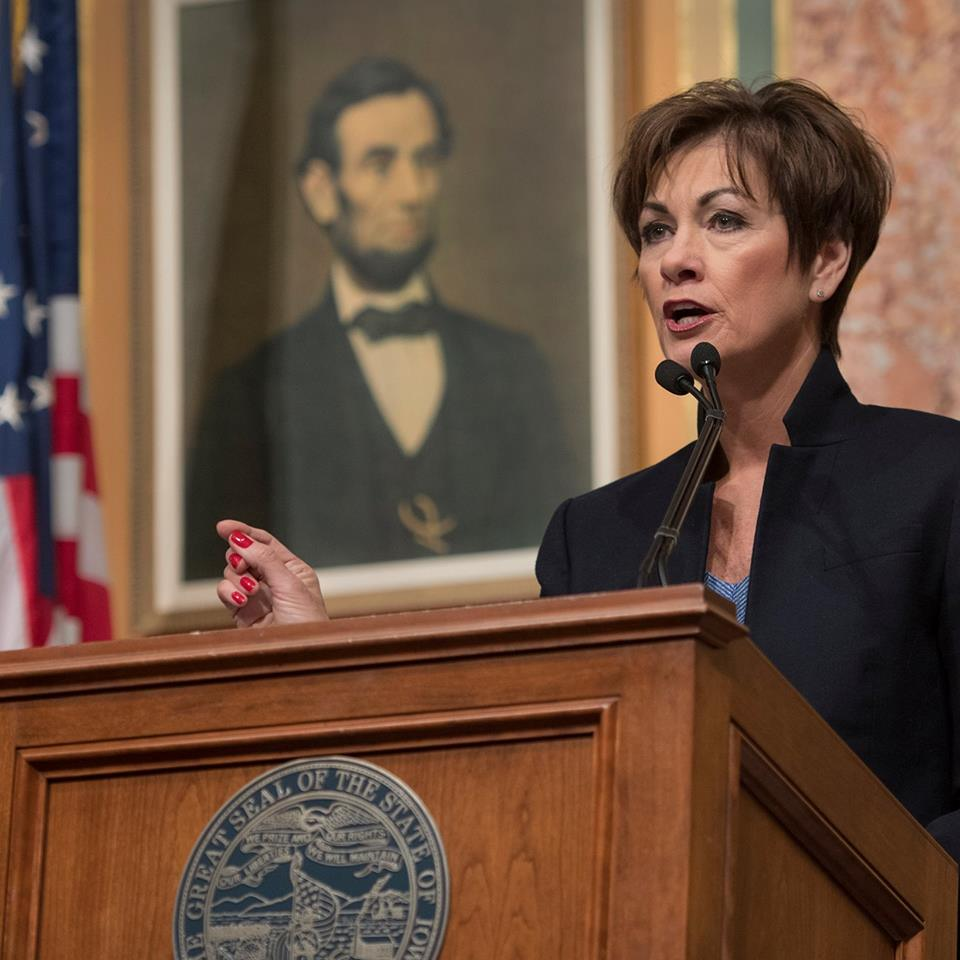 Gov. Reynolds announces SBA disaster assistance for 7 storm-damaged counties