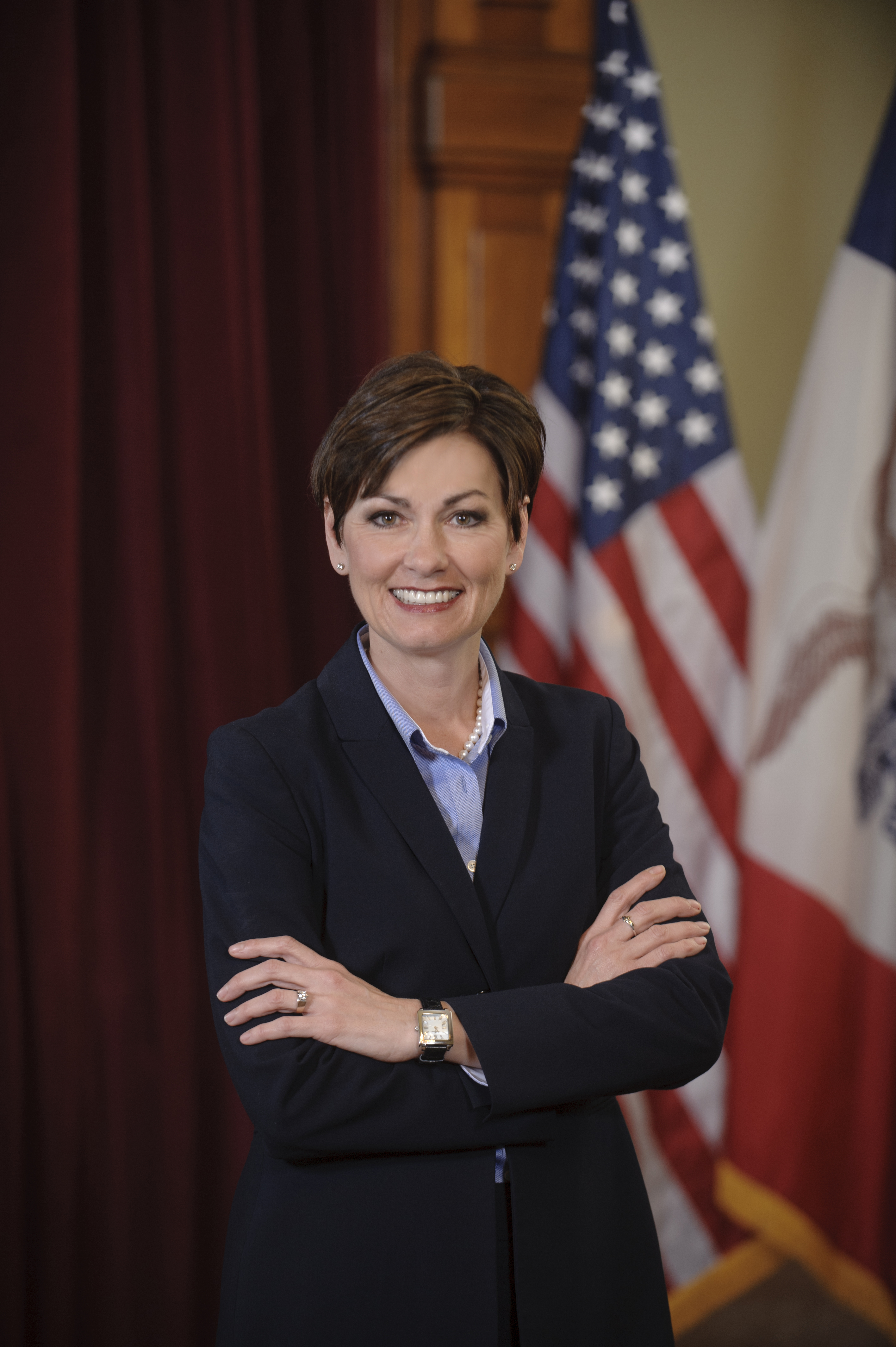 headshot of governor kim reynolds