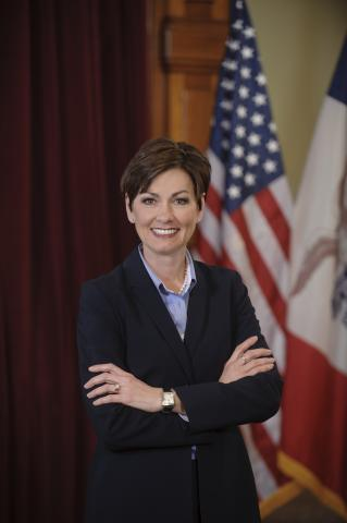 Gov. Kim Reynolds headshot