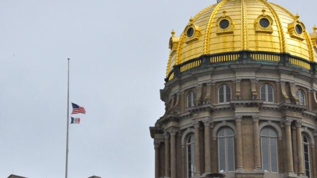 Gov. Reynolds orders state flags at half-staff to honor school shooting victims