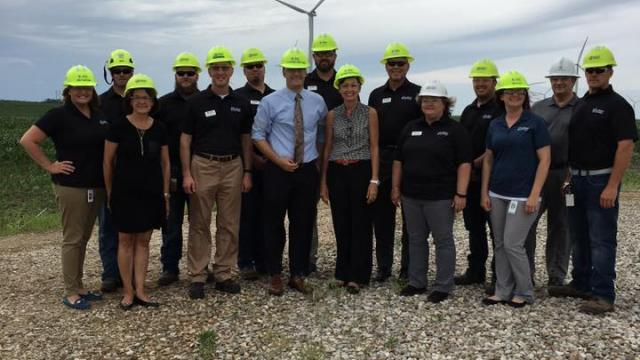 Gov. Reynolds issues statement after new report shows Iowa leads in wind energy jobs