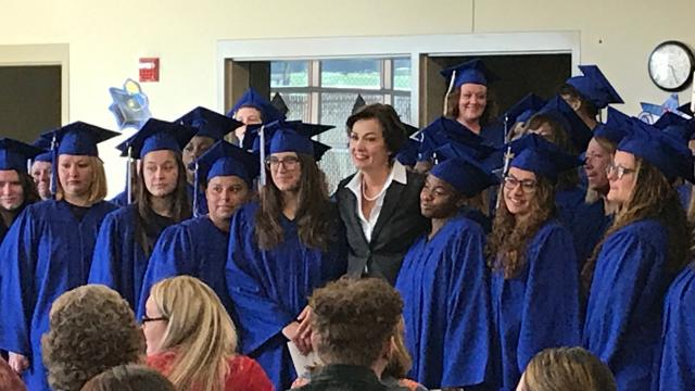 Gov. Reynolds delivers speech of a lifetime — in prison